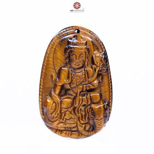 Mặt dây chuyền Phổ Hiền Bồ Tát đá mắt hổ tự nhiên - Phật bản mệnh cho tuổi Thìn, Tỵ VietGemstones - 4819737 , 18687716 , 15_18687716 , 300000 , Mat-day-chuyen-Pho-Hien-Bo-Tat-da-mat-ho-tu-nhien-Phat-ban-menh-cho-tuoi-Thin-Ty-VietGemstones-15_18687716 , sendo.vn , Mặt dây chuyền Phổ Hiền Bồ Tát đá mắt hổ tự nhiên - Phật bản mệnh cho tuổi Thìn, Tỵ Vi