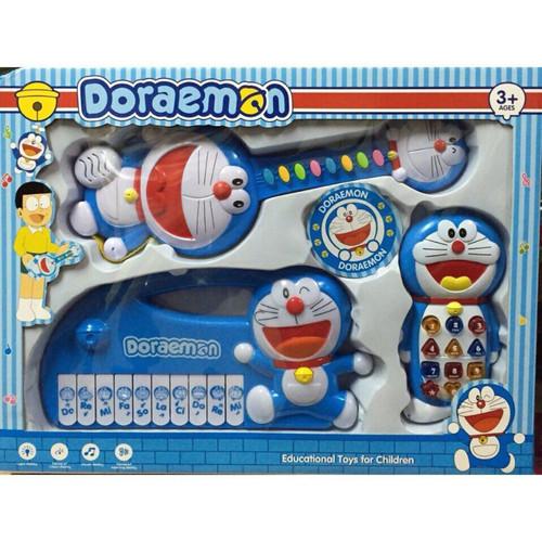 Bộ đồ chơi 3 đàn Dorremon cho bé