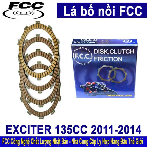 Bố nồi zin EXCITER 135CC Côn tay - FCC JAPAN