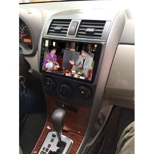 Màn hình androi 4G 9 inches xe Toyota Camry 2007-2013