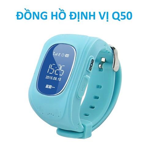 ĐỒNG HỒ ĐỊNH VỊ THÔNG MINH Q50 BLUE