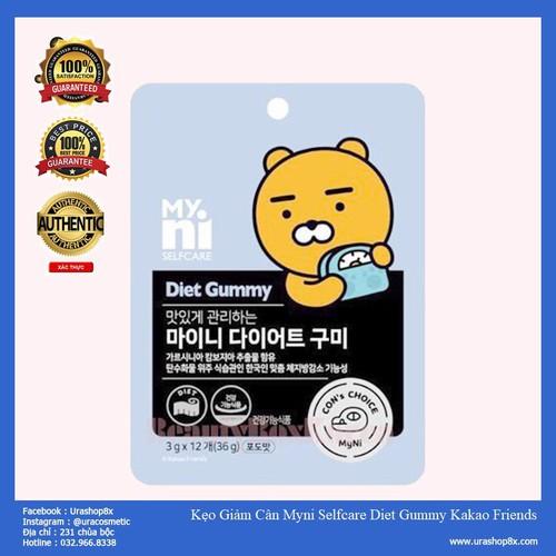 Kẹo Giảm Cân Myni Selfcare Diet Gummy Kakao Friends 36g