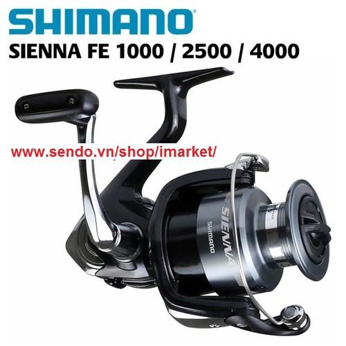 Máy câu cá Shimano Sienna 4000 HÀNG CHÍNH HÃNG[Malaysia].