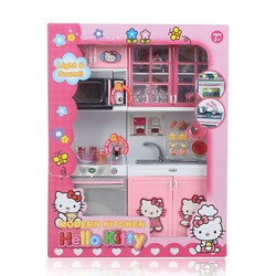 Bộ đồ chơi nhà bếp Hello kitty
