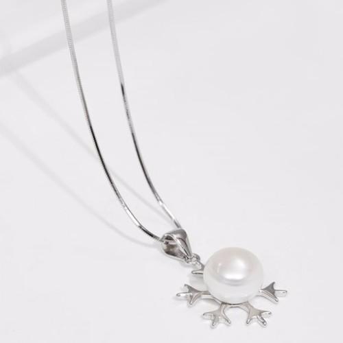 Gembank Dây chuyền bạc Italy bông tuyết ngọc trai trắng cao cấp - 4820284 , 18689590 , 15_18689590 , 1180000 , Gembank-Day-chuyen-bac-Italy-bong-tuyet-ngoc-trai-trang-cao-cap-15_18689590 , sendo.vn , Gembank Dây chuyền bạc Italy bông tuyết ngọc trai trắng cao cấp