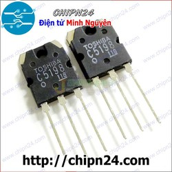 [1 CON] Transistor C5198 2SC5198 TO-3P NPN 10A 140V
