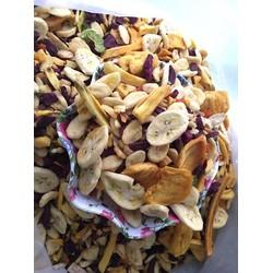 [SALE SINH NHẬT] 500gram Trái Cây Sấy Thập Cẩm hàng vụn