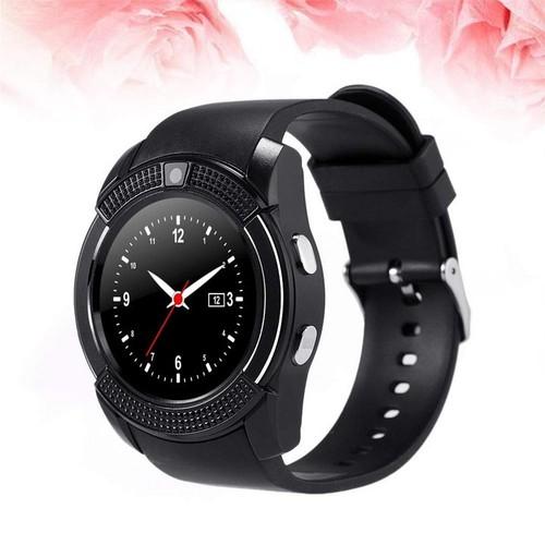 Đồng Hồ Thông Minh Smart Watch V8 Mặt Tròn Tặng Kèm SIM 4G Viettel. - 9032858 , 18697968 , 15_18697968 , 699000 , Dong-Ho-Thong-Minh-Smart-Watch-V8-Mat-Tron-Tang-Kem-SIM-4G-Viettel.-15_18697968 , sendo.vn , Đồng Hồ Thông Minh Smart Watch V8 Mặt Tròn Tặng Kèm SIM 4G Viettel.