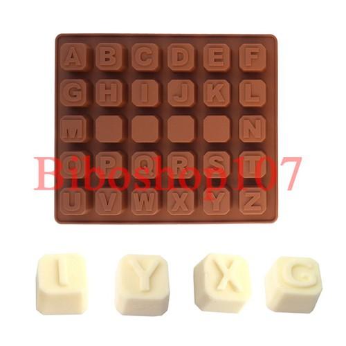 Khuôn silicon làm thạch, rau câu, socola 26 chữ cái nổi - 9027980 , 18691373 , 15_18691373 , 45000 , Khuon-silicon-lam-thach-rau-cau-socola-26-chu-cai-noi-15_18691373 , sendo.vn , Khuôn silicon làm thạch, rau câu, socola 26 chữ cái nổi