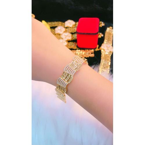 Lắc tay nữ cao cấp dát vàng 18k mẫu mới cực xinh - 9030735 , 18695149 , 15_18695149 , 269000 , Lac-tay-nu-cao-cap-dat-vang-18k-mau-moi-cuc-xinh-15_18695149 , sendo.vn , Lắc tay nữ cao cấp dát vàng 18k mẫu mới cực xinh