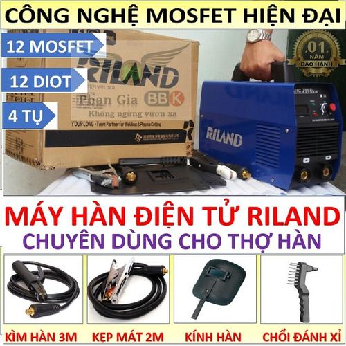 Máy hàn RILAND 250A cho thợ hàn chuyên nghiệp
