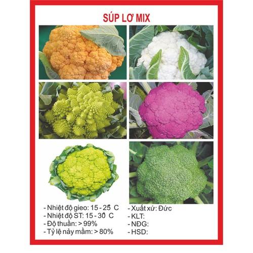 Hạt Giống  Rau Súp Lơ Mix - 20 Hạt - 9019666 , 18679975 , 15_18679975 , 12000 , Hat-Giong-Rau-Sup-Lo-Mix-20-Hat-15_18679975 , sendo.vn , Hạt Giống  Rau Súp Lơ Mix - 20 Hạt