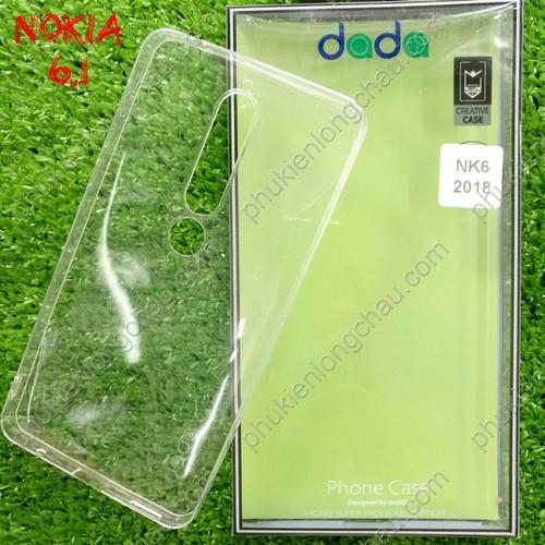 Ốp Lưng Nokia 6.1 Dẻo Trong Suốt Dada Chính Hãng