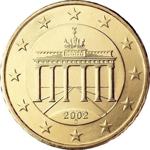 Đồng xu 10 xu euro nước Đức - tiền xu sưu tầm - xu may mắn
