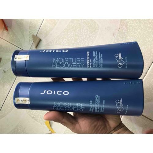 DẦU GỘI XẢ PHỤC HỒI DƯỠNG ẨM RONG BIỂN JOICO MOISTURE RECOVERY 300mlx2