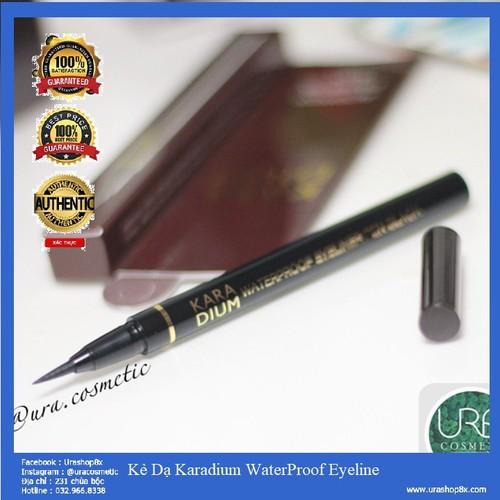 Kẻ Dạ Karadium Waterproof Brush Liner Black