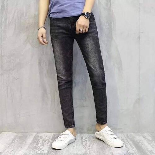 Quần jean nam dài đen trơn đẹp - 9046991 , 18718782 , 15_18718782 , 189000 , Quan-jean-nam-dai-den-tron-dep-15_18718782 , sendo.vn , Quần jean nam dài đen trơn đẹp