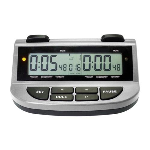 Combo 5 cái đồng hồ thi đấu cờ JUNSD JS 211A : 39 chế độ chỉnh thời gian