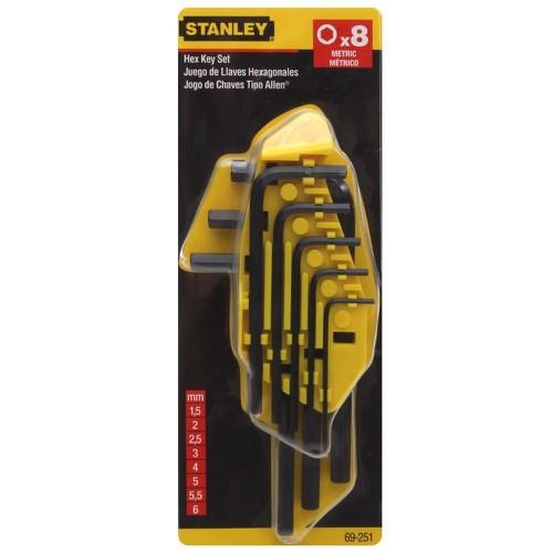 1.5mm-6mm Bộ lục giác 8 cây Stanley 69-251 - 9039296 , 18707809 , 15_18707809 , 132000 , 1.5mm-6mm-Bo-luc-giac-8-cay-Stanley-69-251-15_18707809 , sendo.vn , 1.5mm-6mm Bộ lục giác 8 cây Stanley 69-251