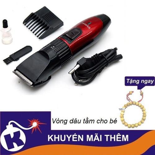 Tông đơ cắt tóc cho bé KEMEI 730 - tặng vòng dâu tằm cho bé - 11661939 , 18713619 , 15_18713619 , 89000 , Tong-do-cat-toc-cho-be-KEMEI-730-tang-vong-dau-tam-cho-be-15_18713619 , sendo.vn , Tông đơ cắt tóc cho bé KEMEI 730 - tặng vòng dâu tằm cho bé
