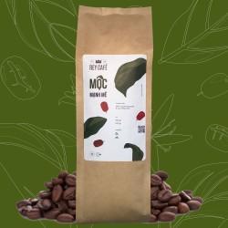 Cà phê Mộc Mạnh Mẽ - Gói 500gr - Coffee Robusta & Culi nguyên chất rang mộc - Rey Cafe