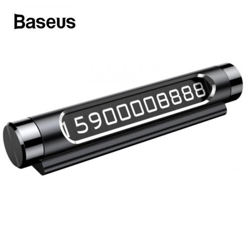 Bảng số điện thoại trên ô tô nhãn hiệu Baseus ACNUM-01