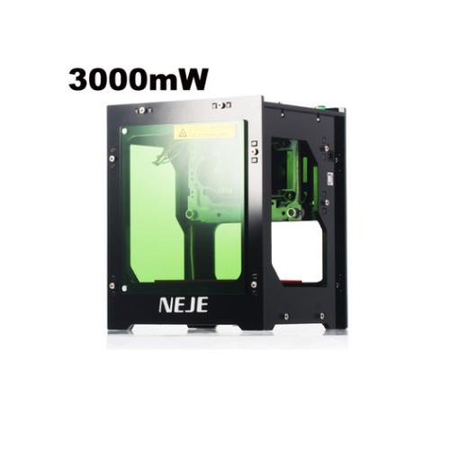Máy khắc laser NEJE DK-8-KZ 2019 nâng cấp công suất lên 3000mW khắc nhanh và nét gấp 3 lần