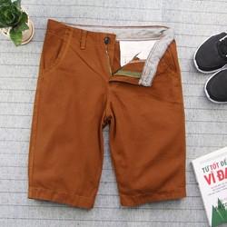 Quần shorts kaki nam màu da bò Q133 MĐ