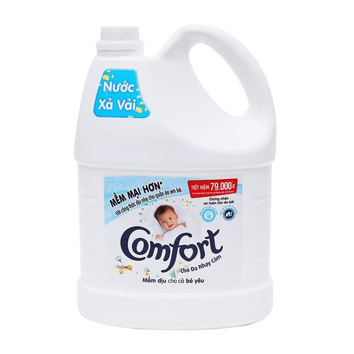 Nước xả vải Comfort đậm đặc cho da nhạy cảm 3.8lit - 9035560 , 18701930 , 15_18701930 , 220000 , Nuoc-xa-vai-Comfort-dam-dac-cho-da-nhay-cam-3.8lit-15_18701930 , sendo.vn , Nước xả vải Comfort đậm đặc cho da nhạy cảm 3.8lit
