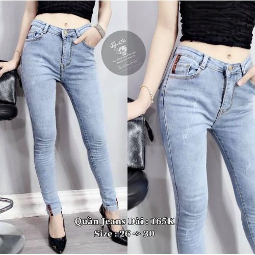 Quần jeans nữ dài đẹp - 9045759 , 18717372 , 15_18717372 , 169000 , Quan-jeans-nu-dai-dep-15_18717372 , sendo.vn , Quần jeans nữ dài đẹp