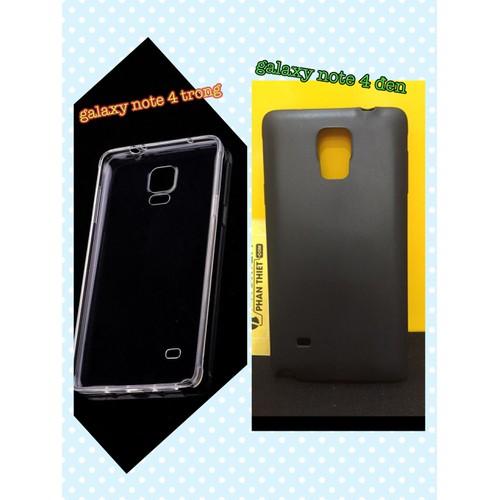 Ốp Silicon SMTT Samsung Note 4