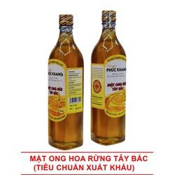 Combo Tiết Kiệm 2 chai mật ong hoa rừng Tây Bắc Phúc Khang