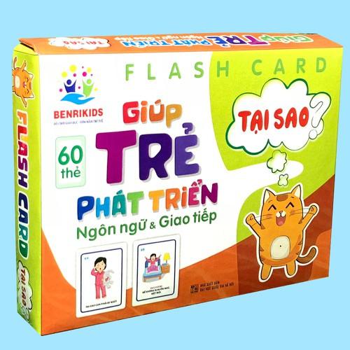 Thẻ Học Thông Minh Flashcards Giúp Bé Phát Triển Ngôn Ngữ Và Giao Tiếp