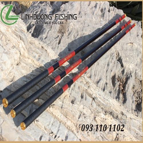 Cần câu tay đơn Carbon - Goldmark III độ cứng 5H dài 5.4m