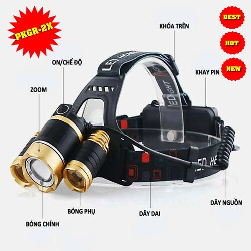 đèn bin đội đầu|đèn pin giá rẻ