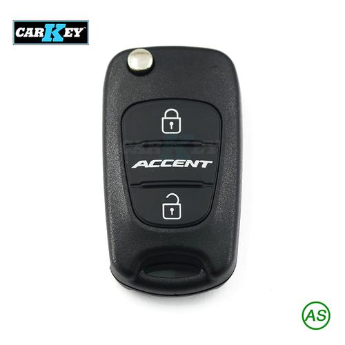 Vỏ chìa khóa xe-HYUNDAI ACCENT Key Shell 3 Button Flip  - Vỏ chìa khóa ô tô-HYUNDAI ACCENT Key Shell 3 Button Flip - HYU08 6B3