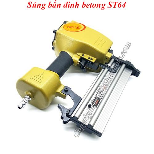Máy Bắn Đinh BêTông Dùng Hơi ST64-Súng bắn đinh betong