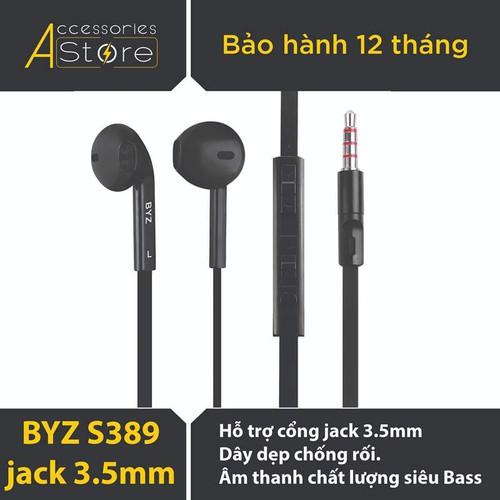 Tai nghe nhét tai BYZ S389 - Hàng chính hãng