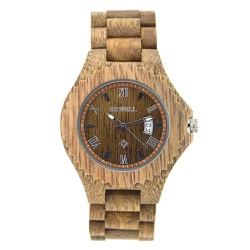 Đồng hồ gỗ đeo tay nam bewell
