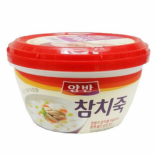 Combo 5 Cháo Ăn Liền Vị Cá Ngừ Yangban Rice Porridge With Tuna 287.5g