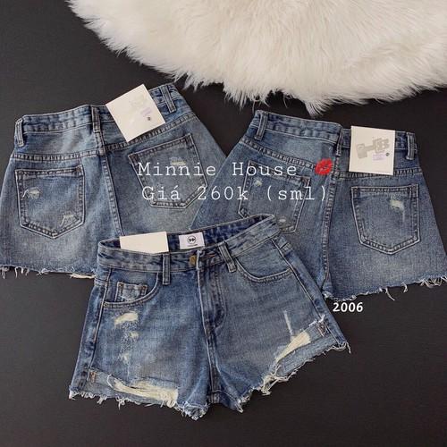 Quần short jean nữ xanh đen thời trang - 9046678 , 18718420 , 15_18718420 , 105000 , Quan-short-jean-nu-xanh-den-thoi-trang-15_18718420 , sendo.vn , Quần short jean nữ xanh đen thời trang
