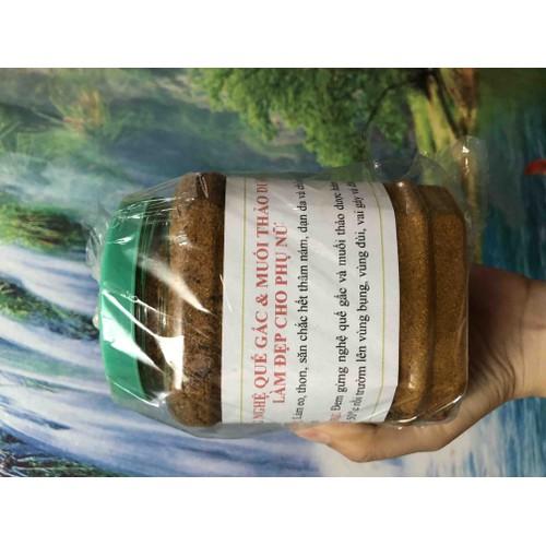 Hộp 500g muối chườm thảo dược đánh tan mỡ bụng cực hiệu quả