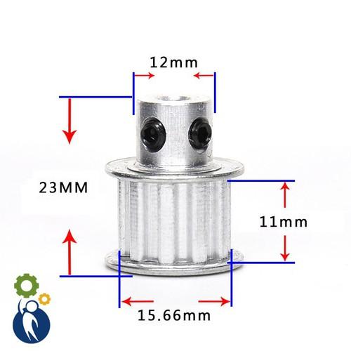 Pulley XL Trục 8mm - 10 Răng