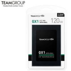 Ổ CỨNG SSD 120GB TEAM GROUP GX1 SATA III 2.5 INCH - HÃNG PHÂN PHỐI CHÍNH THỨC - GX120