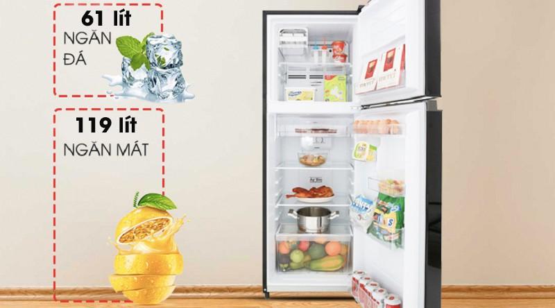 Tủ lạnh Toshiba Inverter 180L GR-B22VU UK 2