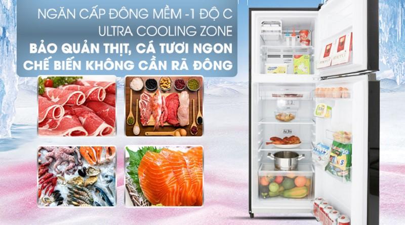 Tủ lạnh Toshiba Inverter 180L GR-B22VU UK 6