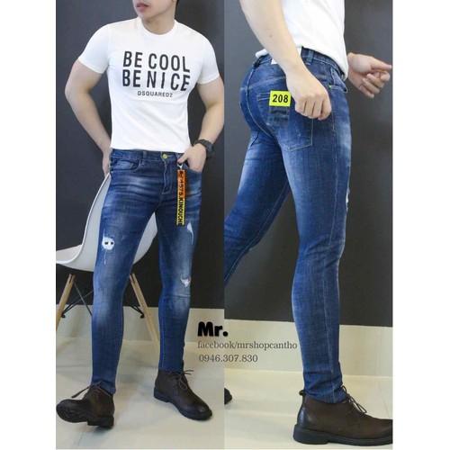 Quần jean nam cực hiện đại