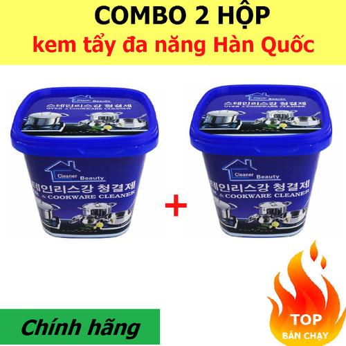Combo 2 hộp Bột kem tẩy rửa xoong nồi đa năng Hàn Quốc - 4823957 , 18706055 , 15_18706055 , 170000 , Combo-2-hop-Bot-kem-tay-rua-xoong-noi-da-nang-Han-Quoc-15_18706055 , sendo.vn , Combo 2 hộp Bột kem tẩy rửa xoong nồi đa năng Hàn Quốc