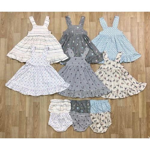 váy đầm cho bé gái 2-10y