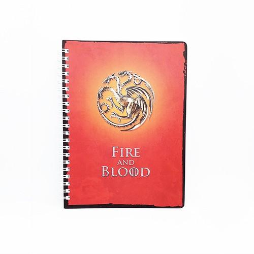 Sổ tay Lò Xo Dòng Kẻ - Nhà Targaryen